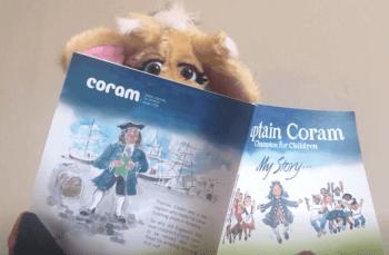 Harold and Captain Coram book