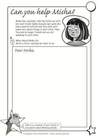 Can you help Misha activity sheet