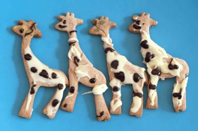 Brilliant giraffe biscuits
