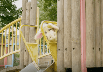 Harold at the top of the slide