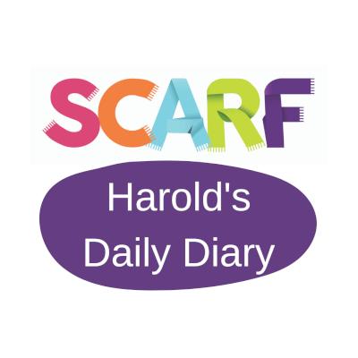 Harold's daily diary logo