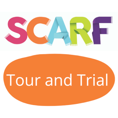 SCARF free six week Tour and Trial logo