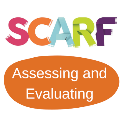 Logo - SCARF - Assessing and Evaluating