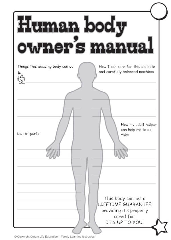 Human body user manual