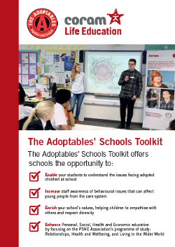 Download The Adoptables School Toolkit flyer